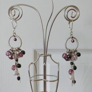 Candies dangling beaded earrings